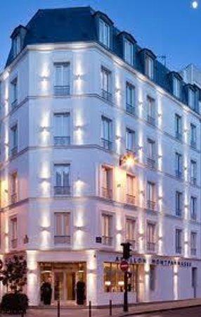 Hôtel Apollon Montparnasse : hotel apollon at dusk