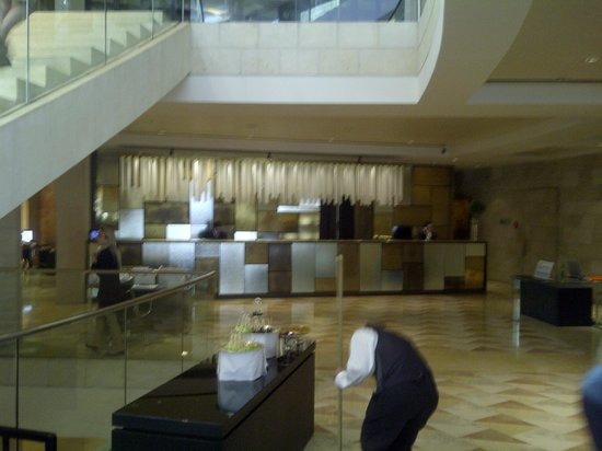 David Citadel Hotel: recepcion