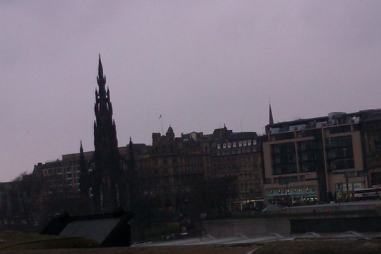 The Scotsman Hotel: View from hotel reception
