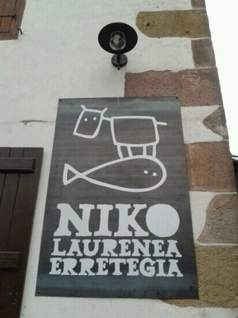 Urdazubi-Urdax, สเปน: Restaurante Niko en Urdax