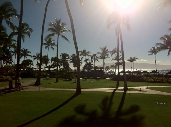 Sheraton Maui Resort & Spa: view from second story