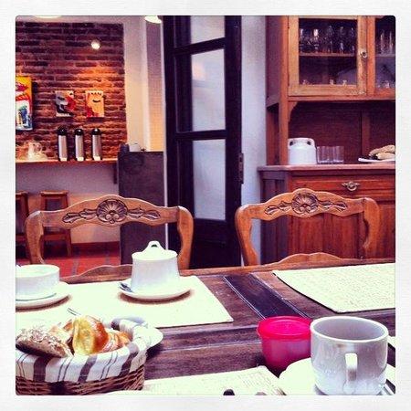 Posada Gotan: Breakfast room