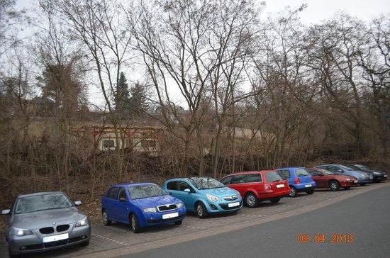 Hotel Residenz Bad Frankenhausen: Estacionamento