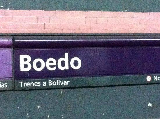 Posada Gotan: Nearest metro station