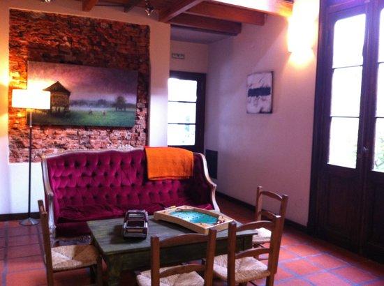 Posada Gotan: view from breakfast room