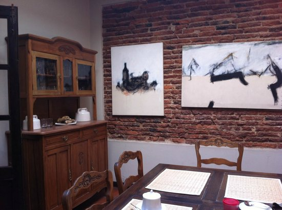 Posada Gotan: Dining room/ breakfast room