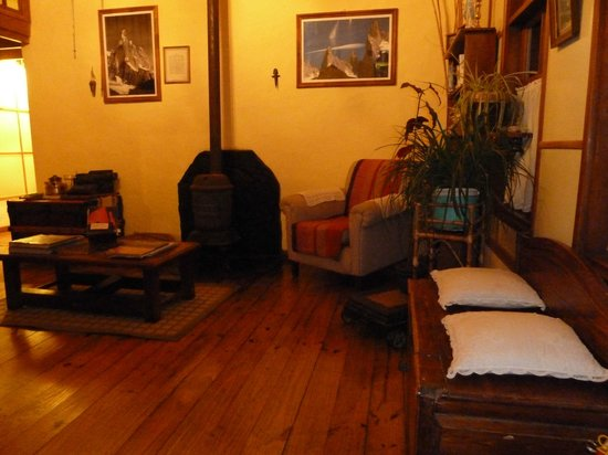 Hosteria El Pilar: Living room