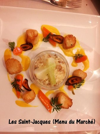 La Suite: Coquilles Saint Jacques