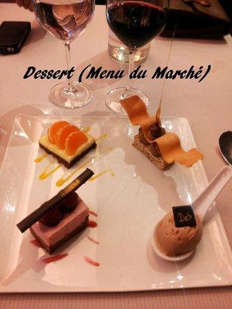 La Suite : Assiette de desserts