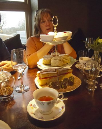 The Swan at Chapel Down: our afternoon tea experience