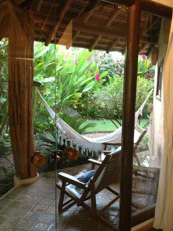 Villas de Trancoso : The private garden off our room