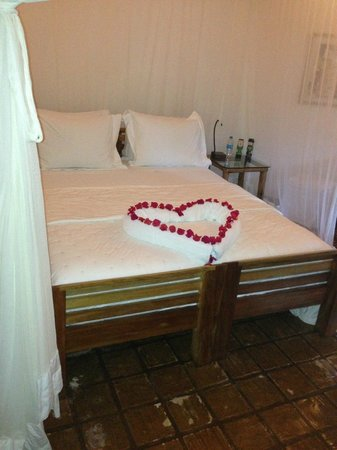 Villas de Trancoso : One of the many little extra touches from housekeeping
