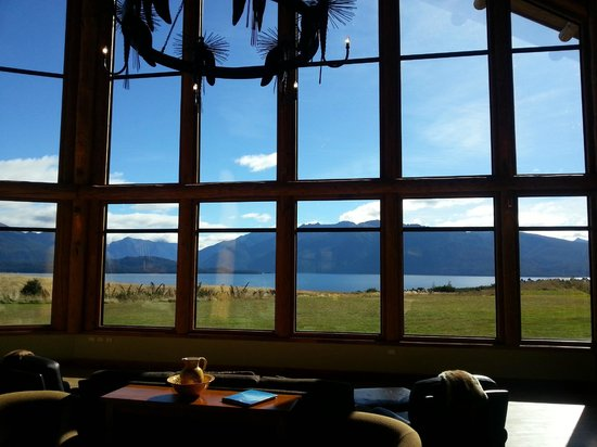 Fiordland Lodge: View from the Lobby