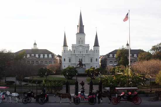 Gray Line Cemetery and Voodoo Walking Tour: Jackson Square