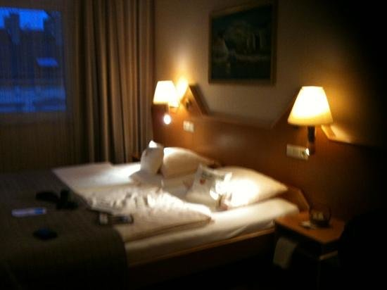 Comfort Hotel Am Kurpark: very comfortable bed