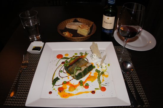 OKitchen: Beautiful presentation of the vegetable terrine