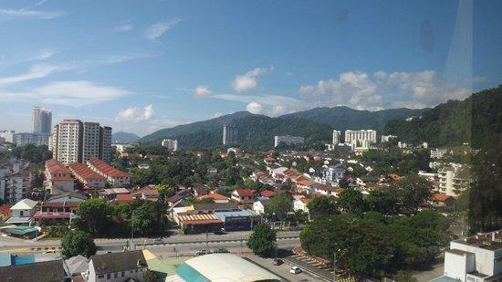Hotel Sentral Riverview Melaka : View from 9th floor corridor