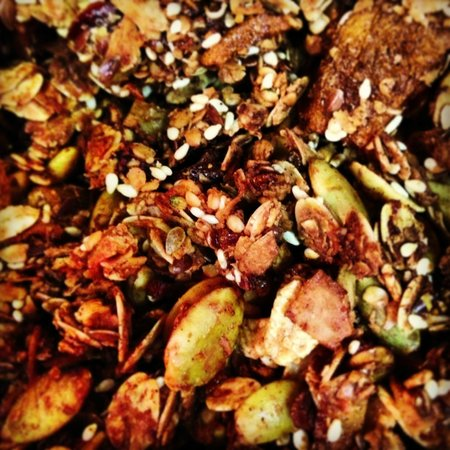 SoL Sun Belt Cookery: Housemade moroccan spiced granola