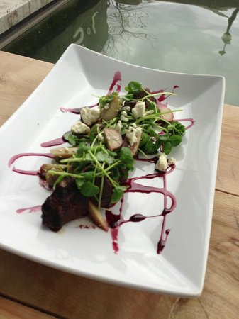 SoL Sun Belt Cookery: Hangar Steak, with olives & feta