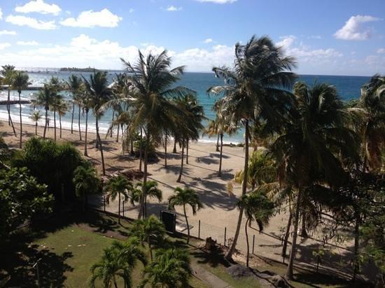 Karibea Beach Resort Gosier: vu de notre chambre au 2 eme étage