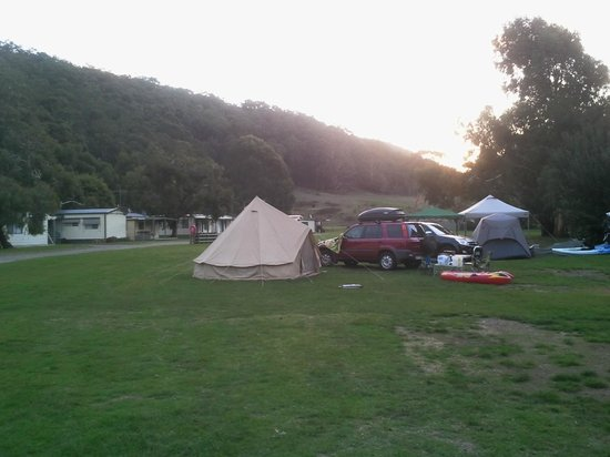 BIG4 Wye River Holiday Park: tent pitch