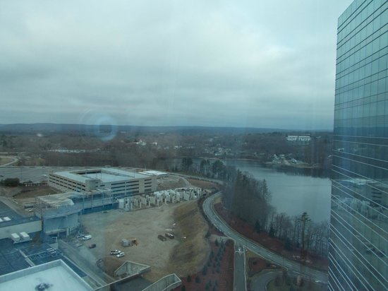 Mohegan Sun: View from room.