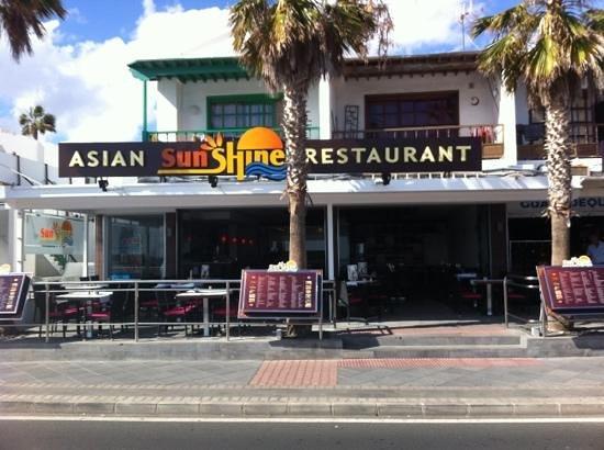 Sunshine: very good restaurant