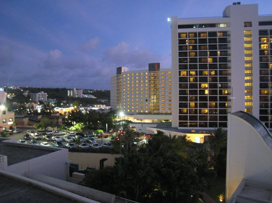 The Westin Resort Guam: Tumon view from our room.