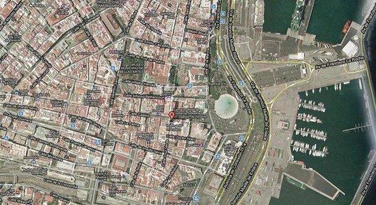 Hotel Adonis Capital: Map