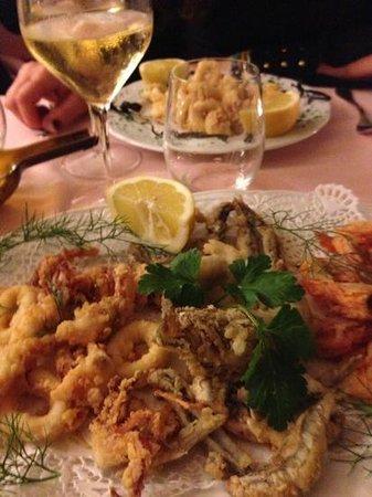 La Capannina : frittura pesce misto