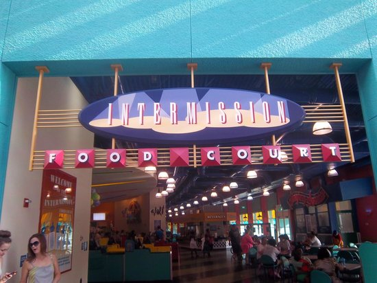 Disney's All-Star Music Resort: Food Court