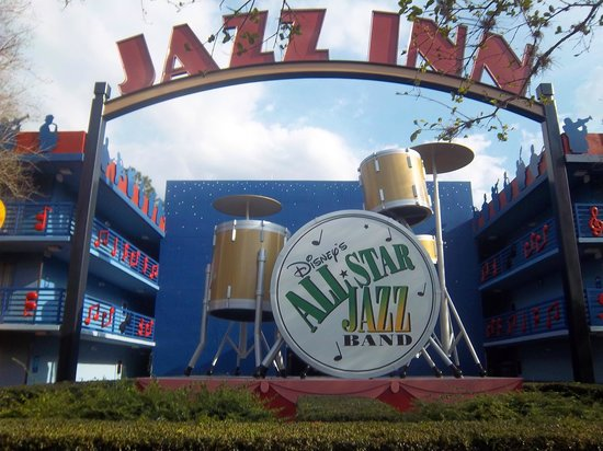 Disney's All-Star Music Resort: Jazz Inn Icon
