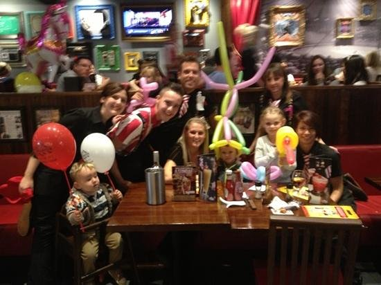 TGI Fridays Great Birthdays