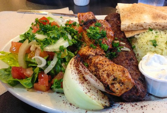 Water Street Deli and Grocery: Combo Kabob Platter