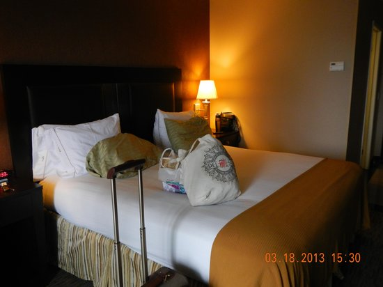 Holiday Inn Express San Clemente: bed