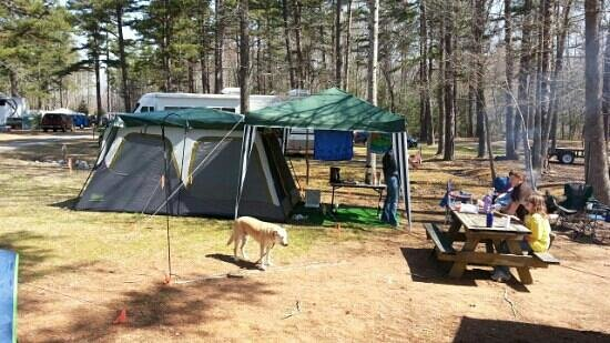 Zooland Family Campground: new accommodations