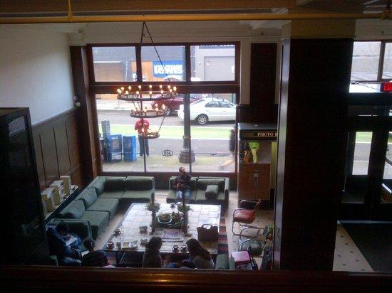 Ace Hotel Portland: The lobby