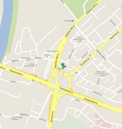 Hotel Velga: Location