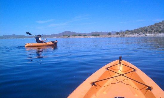 Go Paddle AZ : Gently down the stream...