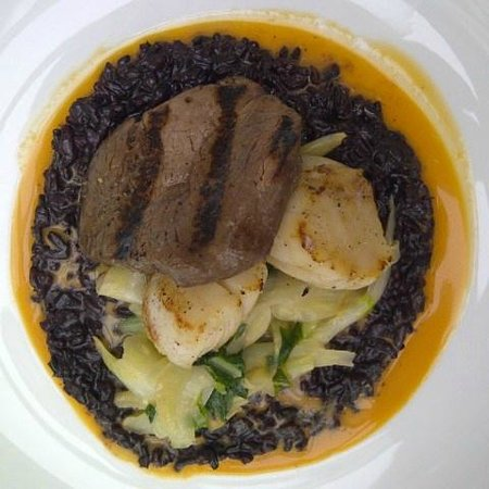 Terrace in The Park: Surf and turf