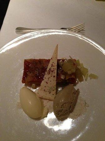 Terrace Restaurant: apple dessert