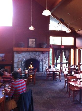 The Wild Wood Bistro & Bar: fireplace