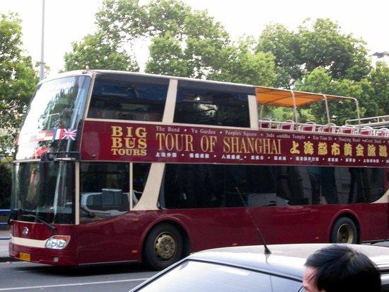 big bus tour map 2 picture of big bus tours shanghai shanghai tripadvisor. Black Bedroom Furniture Sets. Home Design Ideas