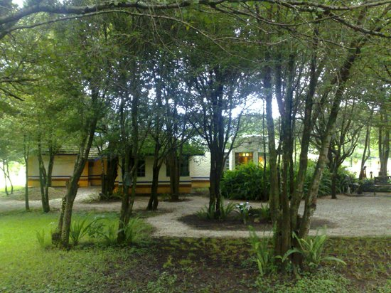 Hotel Bosques del Sol suites: JARDIN POSTERIOR