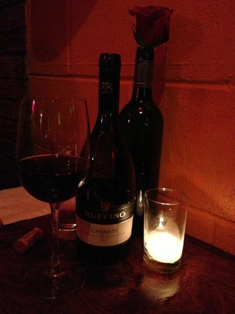 Wine at Fresco Cafe
