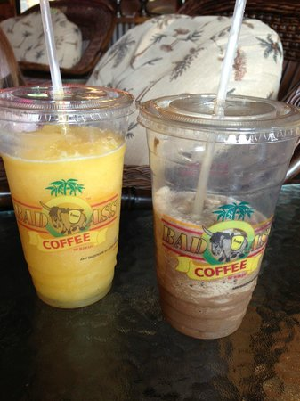 Bad Ass Coffee : Smoothie and Frozen Blended Coffee