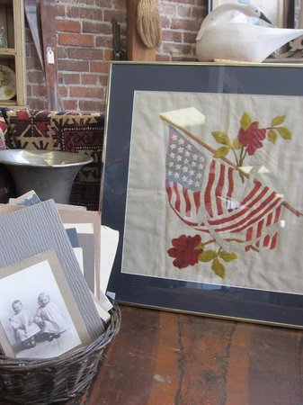 Whistlestop Antiques: Flags and Photos