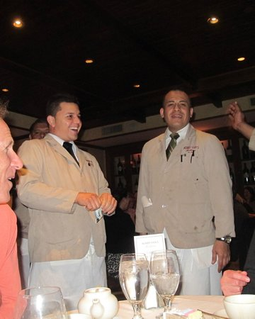 Bobby Van's Steakhouse - 54th Street : Waiters singing happy birthday