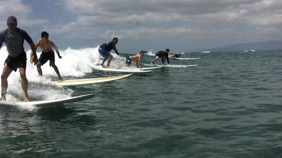 Ty Gurney Surf School : Surfing on Waikiki Beach