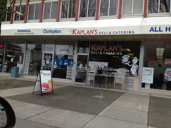 Kaplan's Star Deli on Oak at 41st Avenue